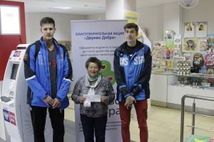 Игроки БК «Самара» приняли участие в благотворительной акции «Дерево Добра»