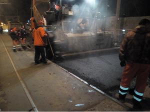 На улице Галактионовской в Самаре основные работы по комплексному ремонту выполнены на 95%