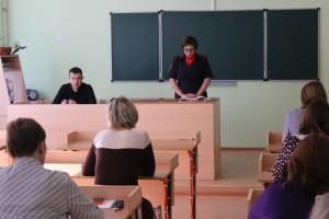 Сотрудники полиции и прокуратуры Кинельского района проводят встречи с  педагогами образовательных учреждений