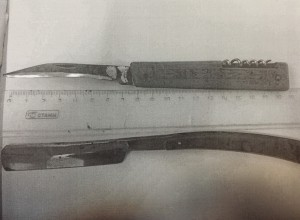 Складной нож и бритву женщина пыталась пронести в суд  в Исаклинском районе