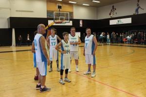 Председатели Самарской губернской Думы и Думы Тольятти сыграли в баскетбол
