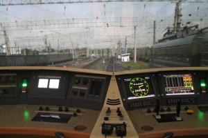 Тренажерный комплекс для обучения и повышения квалификации машинистов поступил на Кбш ЖД