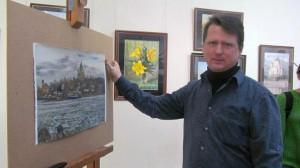 В Самарском художественном музее откроется персональная выставка Александра Волкова «Палитра моих впечатлений»