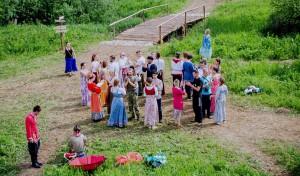 Клуб русской плясовой традиции «Карагод» приглашает всех желающих на серию открытых занятий