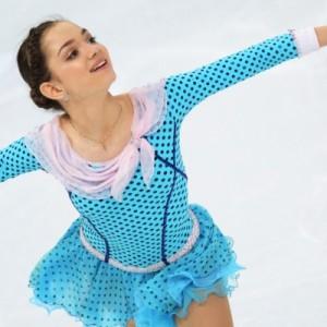 Россиянка Евгения Медведева - на первом месте первого этапа Гран-при по фигурному катанию