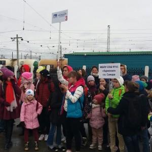 «Краеведческий экспресс» привез в Сызрань 260 самарских школьников