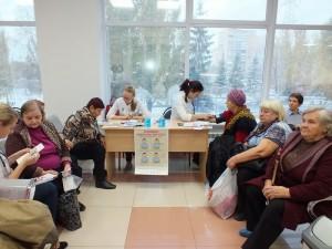 В Самарской областной больнице им. Середавина прошла акция, посвященная Всемирному дню борьбы с инсультом