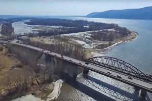 Движение по мосту через Сок открыто  в полном объеме