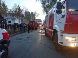 В Самаре на улице Буянова горели частные дома