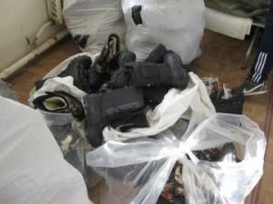 Житель Шигонского района похитил из цеха 300 пар обуви и ноутбук