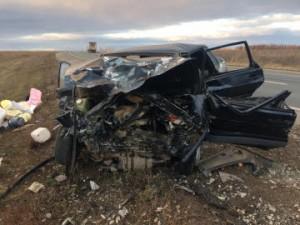 В Красноярском районе Самарской области ВАЗ21150 врезался в иномарку Skoda
