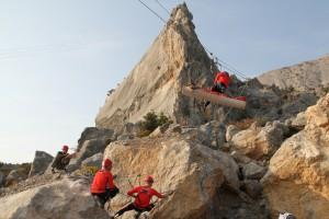 Спасатели из Самары признаны лучшими на соревнованиях горных поисково-спасательных формирований в Севастополе