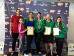 21 медаль завоевали самарские таможенники на соревнованиях по плаванию среди команд таможенных органов Приволжского региона