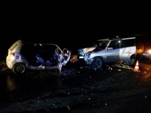 В Ставропольском районе погибла девушка-водитель Дэу Матис, столкнувшись на «встречке» с Шевроле Нивой