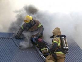 В Самаре в доме на улице Некрасовской горело чердачное перекрытие
