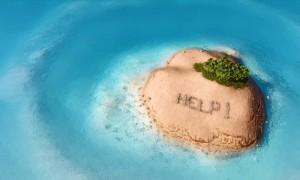 Застрявший на острове в Швеции россиянин выложил мхом слово «Спасите»