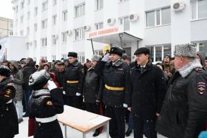 Дмитрий Азаров поздравил учащихся Самарского кадетского корпуса МВД РФ с посвящением в кадеты
