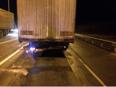 В Сызранском районе  «Nissan» въехал в грузовик «Renault», пострадали водитель и пассажир легкового автомобиля