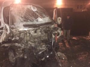 20-летний водитель ГАЗ 2705 в Самаре врезался в иномарку Volvo