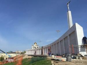 Дальнейшая судьба мемориального комплекса на площади Славы определится по итогам конкурса профессионалов