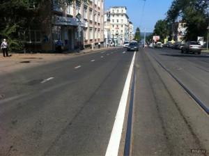 В Самаре закончен комплексный ремонт улицы Полевой
