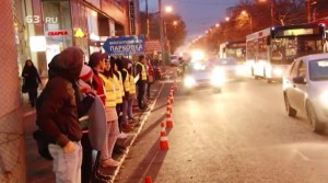ГИБДД образовала щит из добровольцев для борьбы с пешеходами-нарушителями