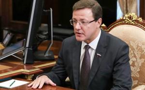 Дмитрий Азаров в Москве обсудил с вице-премьером Дмитрием Рогозиным перспективы развития аэрокосмического кластера региона