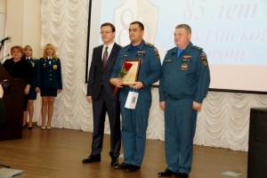 Дмитрий Азаров наградил лучших сотрудников ГУ МЧС по Самарской области  и ветеранов службы