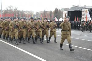 7 ноября в Самаре прошел традиционный Парад Памяти