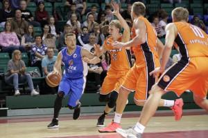 Баскетбольная «Самара» переиграла серебряного призера Суперлиги
