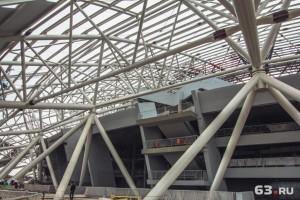 В Самаре установят систему видеонаблюдения на стадионе «Самара-Арена»