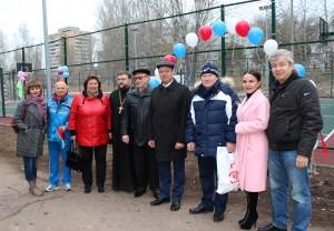 Депутаты Тольятти приняли участие в открытии 17 новых спортивных площадок
