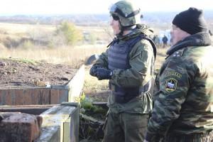 Офицеры самарского СОБРа завершили полевой выход