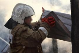 Рано утром в Кинель-Черкассах на улице Мичуринская вспыхнул пожар в частном доме