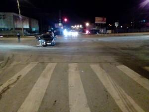 В Самаре на пересечении улиц Авроры и Промышленности при столкновении «BMW» и «ЛАДА Гранта» пострадал годовалый ребёнок