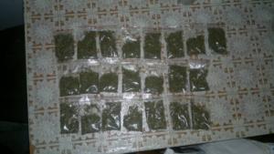 Житель Октябрьска сотрудники хранил марихуану в контейнере в холодильнике