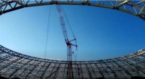 На стадионе «Самара-Арена» завершили раскружаливание