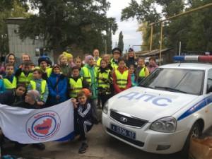 Госавтоинспекция Ставропольского района призывает пешеходов стать заметнее на вечерних дорогах