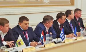 Первый заместитель главы Самары Владимир Терентьев принимает участие в общем собрании членов Ассоциации городов Поволжья