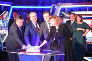 Дмитрий Азаров и Олег Добродеев открыли новую студию ГТРК «Самара»