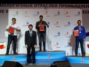 Самарец стал призером WorldSkills Hi-Tech 2017