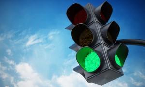 Установлены светофоры на кольце у станции метро «Московская» в Самаре