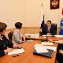 Глава  региона Дмитрий Азаров провел прием граждан