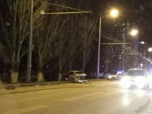 В Самаре, ночью, на пересечении Московского шоссе и улицы Потапова погиб водитель «Лады» при столкновении с иномаркой