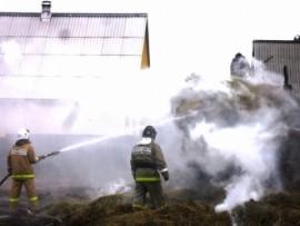 В Приволжском районе в селе  Сперанка сгорел частный дом