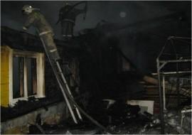 В Петра-Дубраве на улице Зеленой горел частный дом