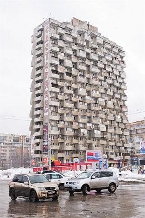 В Самаре предложили перекрасить дом-«напильник» на Осипенко