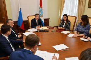 Дмитрий Азаров встретился с гендиректором АСИ Светланой Чупшевой