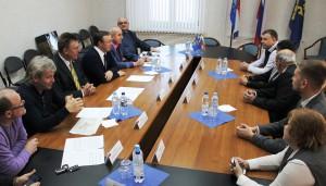 В Думе Тольятти состоялась встреча с официальной делегацией города-побратима Казанлык