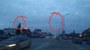 В Самаре на развязке Московского шоссе и Кирова освещение появится после восстановления поврежденного кабеля